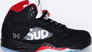 Air Jordan 5 Retro Black/Fire Red