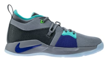 Nike PG 2 Pure Platinum/Neo Turquoise-Wolf Grey-Aurora Green