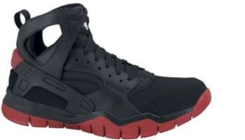 Nike Air Huarache BBall 2012 Black/Black-Sport Red