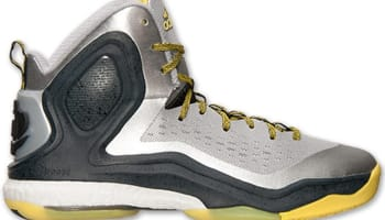 adidas D Rose 5 Boost Metallic Silver/Yellow-Black