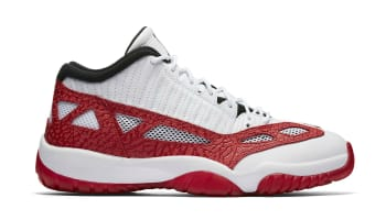 Air Jordan 11 Retro Low IE White/Gym Red-Black