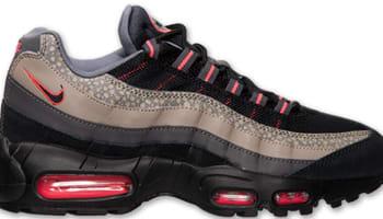 Nike Air Max '95 Premium Black/Black-Medium Ash-Cool Grey