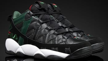 Fila Spaghetti Black/Green-Fila Red