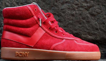 Pony Slam Dunk Red/Gum