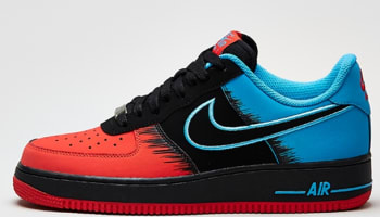 Nike Air Force 1 Low Light Crimson/Black-Vivid Pink