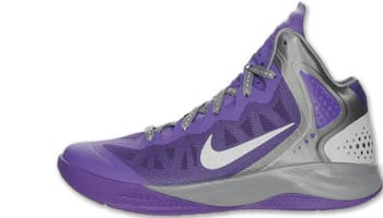 Nike Zoom Hyperenforcer PE Club Purple/Metallic Silver-Cool Grey