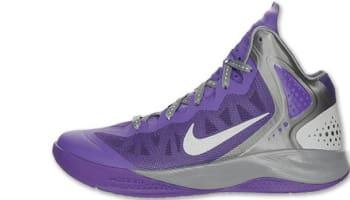 Nike Zoom Hyperenforcer PE Club Purple/Metallic Silver-Cool Grey