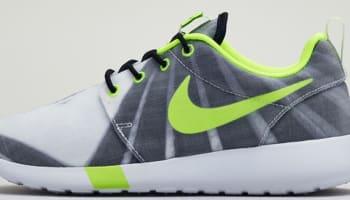 Nike Roshe Run FV Women's Black/Volt-White