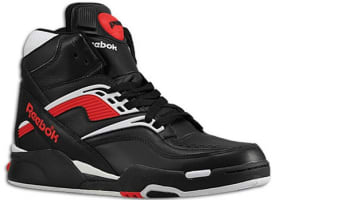 Reebok Twilight Zone Pump Black/White-Reebok Red