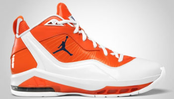 Jordan Melo M8 White/Midnight Navy-Orange Blaze