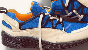 Nike Air Huarache Light Tan/Royal-Mandarin