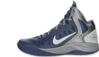 Nike Zoom Hyperenforcer PE Midnight Navy/Metallic Silver-Cool Grey