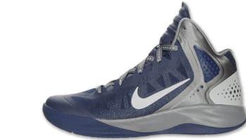 Nike Zoom Hyperenforcer PE Midnight Navy/Metallic Silver-Cool Grey