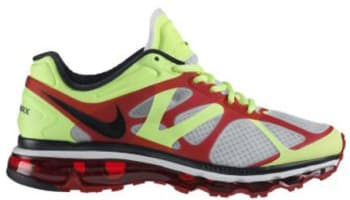 Nike Air Max+ 2012 White/Black-Volt-University Red