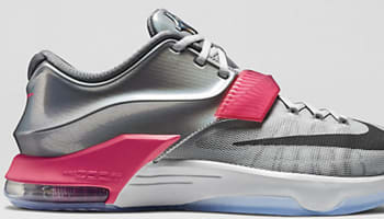 Nike KD VII AS Pure Platinum/Multi-Color-Black