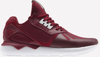 adidas Tubular Collegiate Burgundy/White