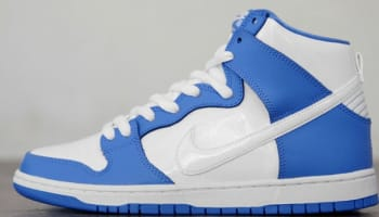 Nike Dunk High Premium SB University Blue/White-White