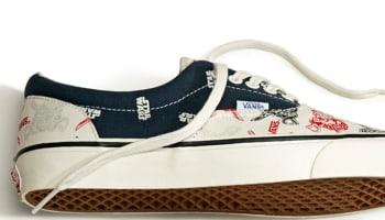 Vans OG Era LX Navy/White-Red
