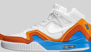 Nike Air Tech Challenge II SP White/White-Vivid Blue-Blur Orange