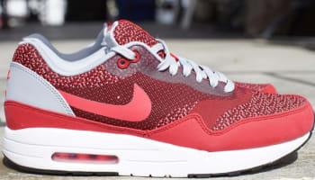 Nike Air Max 1 JCRD Gym Red/Laser Crimson-Light Crimson