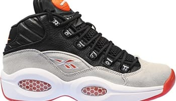 Reebok Pump Question Mid Black/Steel-White-Flux Orange