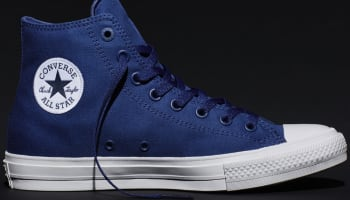 Converse Chuck Taylor All-Star II Hi Sodalite Blue/White