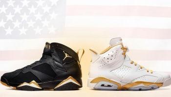 Air Jordan GMP Golden Moments Pack