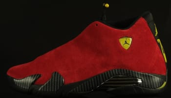 Air Jordan 14 Retro Challenge Red/Black-Vibrant Yellow-Anthracite