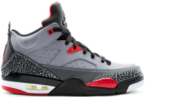 Jordan Son Of Mars Low Cement Grey/White-Black-Fire Red