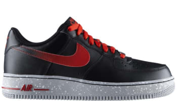 Nike Air Force 1 Low Black/Challenge Red