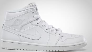Air Jordan 1 Mid White/Cool Grey