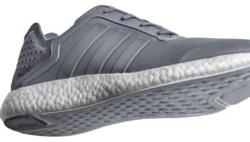 adidas Pure Boost Tech Grey/Metallic Silver-Clear Grey