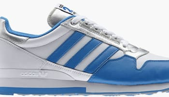 adidas Originals ZX 500 White/Blue-Silver
