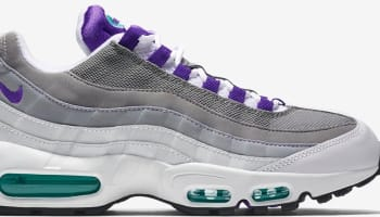 Nike Air Max '95 OG White/Court Purple-Emerald Green-Wolf Grey