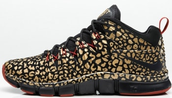 Nike Free Trainer 7.0 Black/Black-Metallic Gold-Gym Red