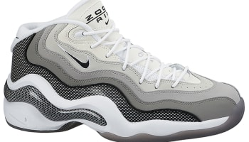 Nike Air Zoom Flight '96 Matte Silver/Black-Light Charcoal-Neutral Grey