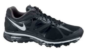 Nike Air Max+ 2012 Black/Pure Platinum-Black