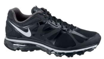 Nike Air Max+ 2012 Black/Pure Platinum-Black
