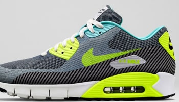 Nike Air Max '90 JCRD Premium Hyper Turquoise/Volt-Ivory-Anthracite