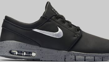 Nike Stefan Janoski Max L SB Black/Cool Grey-Metallic Cool Grey