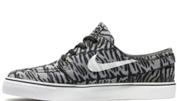 Nike Zoom Stefan Janoski SB Canvas Black/White-Medium Olive