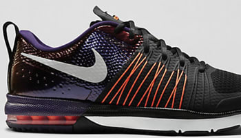 Nike Air Max Effort Black/Metallic Silver-Total Orange-Ink