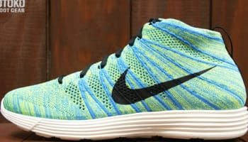 Nike Lunar Flyknit Chukka Squadron Blue/Squadron Blue-Electric Yellow