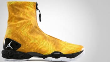 Air Jordan 28 Camo Tour Yellow
