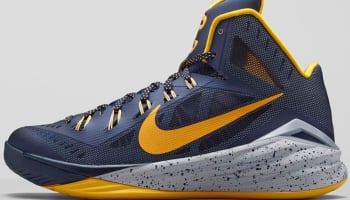 Nike Hyperdunk 2014 PE Midnight Navy/University Gold-Cement Grey