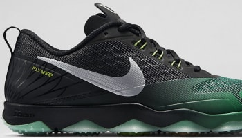 Nike Zoom Hypercross TR Black/Kelly Green-Metallic Silver-Volt
