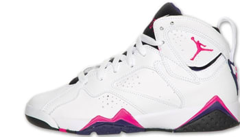 Girls Air Jordan 7 Retro GS Fireberry