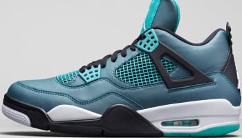 Air Jordan 4 Retro Teal/White-Black-Retro