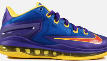 Nike LeBron 11 Low GS Light Photo Blue/Challenge Red-Dark Concord
