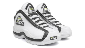 Fila 96 White/Castlerock-Lime Punch